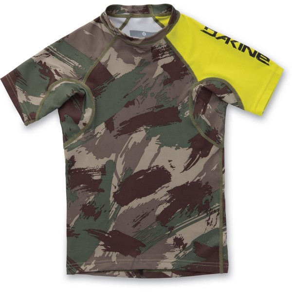Dakine Boys Heavy Duty Snug Fit S/S Kinder Lycra Camo