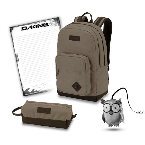 Dakine 365 Pack DLX 27L + Accessory Case + Emma + Block Schulset Elmwood