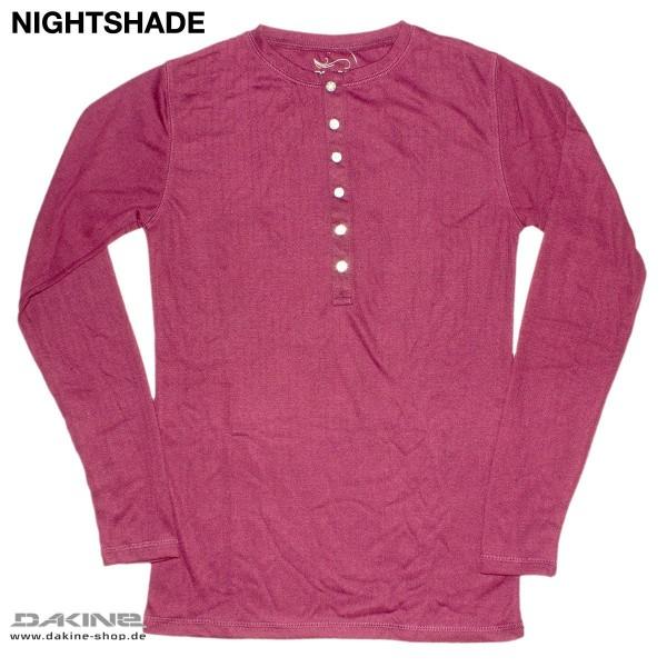 Dakine Wink Henley Funktionsshirt Nightshade