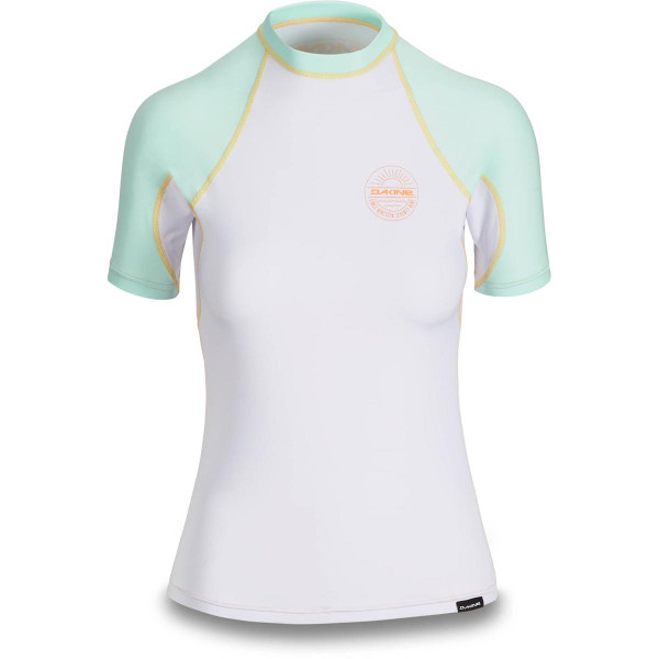 Dakine Womens Flow Snug Fit S/S Damen Lycra Pastel Current