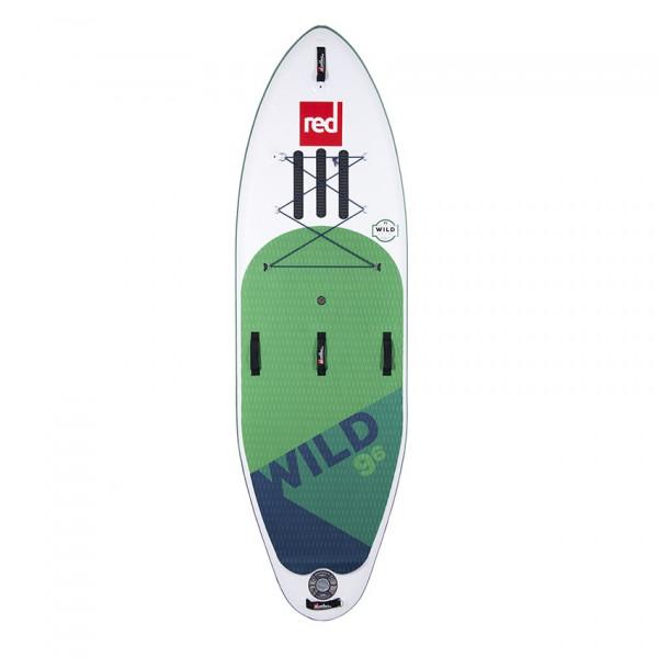RED SUP Board WILD 9'6'' x 34'' x 6'' MSL mit TITAN Pumpe - SUP Board aufpumpbar