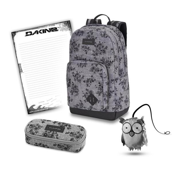 Dakine 365 Pack DLX 27L + School Case + Emma + Block Schulset Rosie
