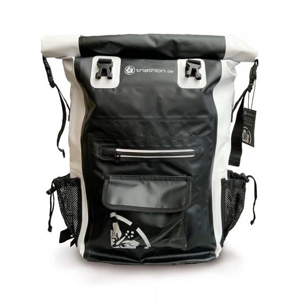 Triathlon Waterproof Backpack Black 28L