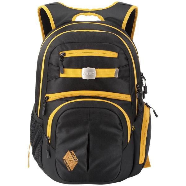 Nitro Hero 37L Rucksack mit Laptopfach Golden Black