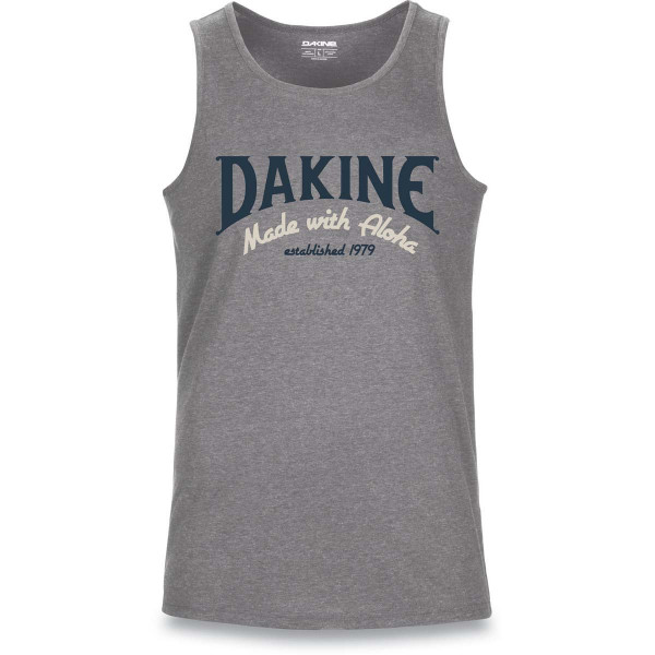 Dakine Archie Tech Tank Herren Funktionsshirt Ärmellos Heather Dark Grey