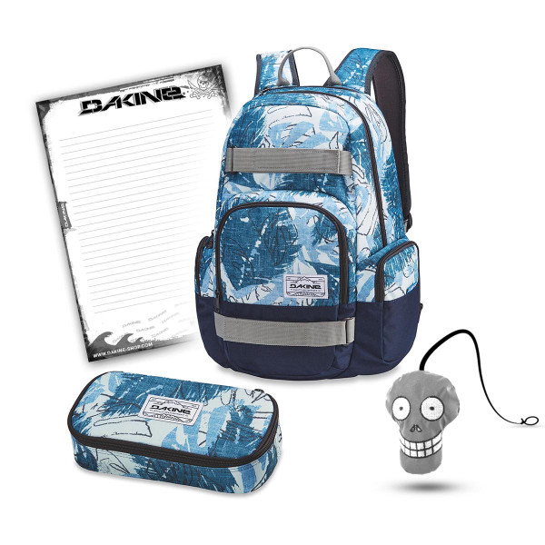 Dakine Atlas 25L + School Case XL + Harry + Block Schulset Washed Palm