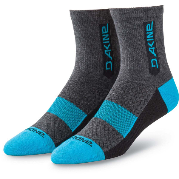 Dakine Berm Sock Herren Bike Socken Black / Bluerock