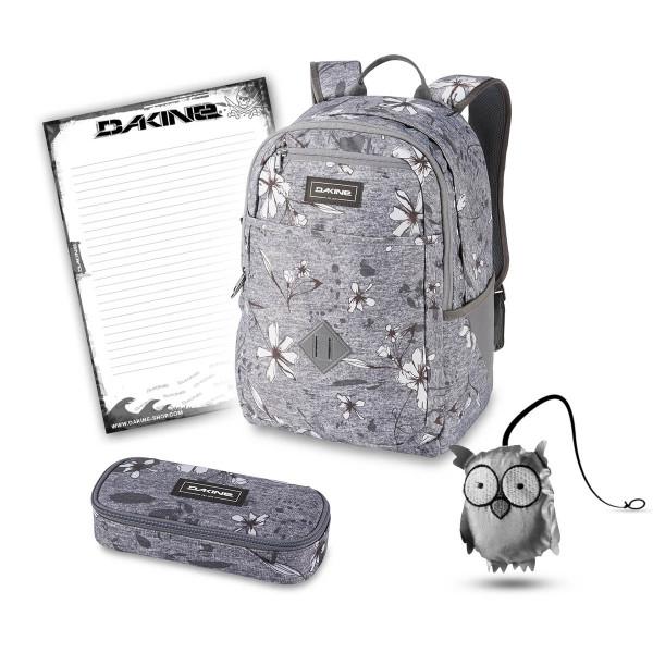 Dakine Essentials Pack 26L + School Case + Emma + Block Schulset Crescent Floral