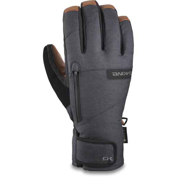 Dakine Leather Titan Gore-Tex Short Glove Ski- / Snowboard Handschuhe Carbon