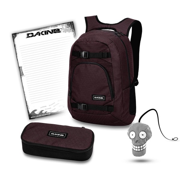Dakine Explorer 26L + School Case XL + Harry + Block Schulset Taapuna