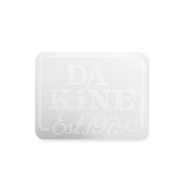 Dakine EST. 1979 Aufkleber White (14 x 8 cm)
