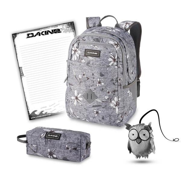 Dakine Essentials Pack 26L + Accessory Case + Emma + Block Schulset Crescent Floral