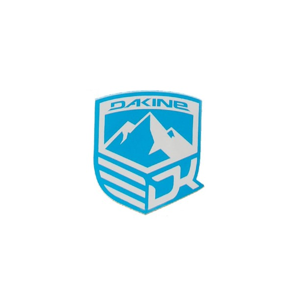 Dakine Mountain Aufkleber Blue (9 x 10.5 cm)