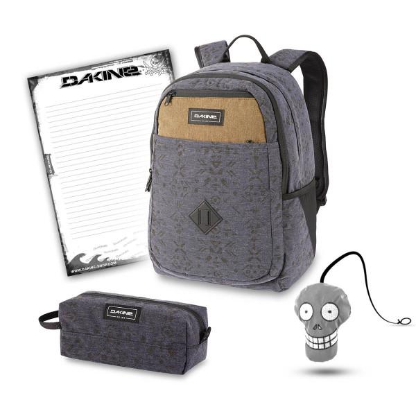 Dakine Essentials Pack 26L + Accessory Case + Harry + Block Schulset Night Sky Geo