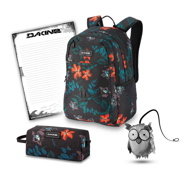 Dakine Essentials Pack 26L + Accessory Case + Emma + Block Schulset Twilight Floral