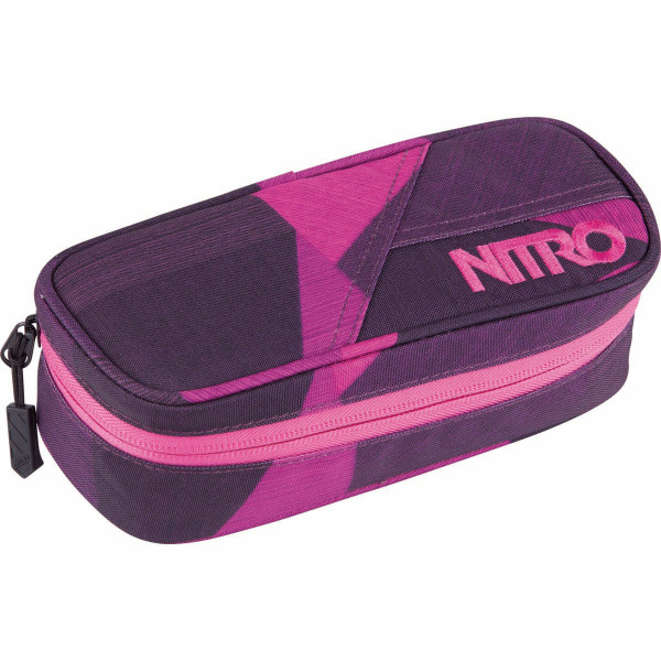 Nitro Pencil Case Federmäppchen Fragments Purple
