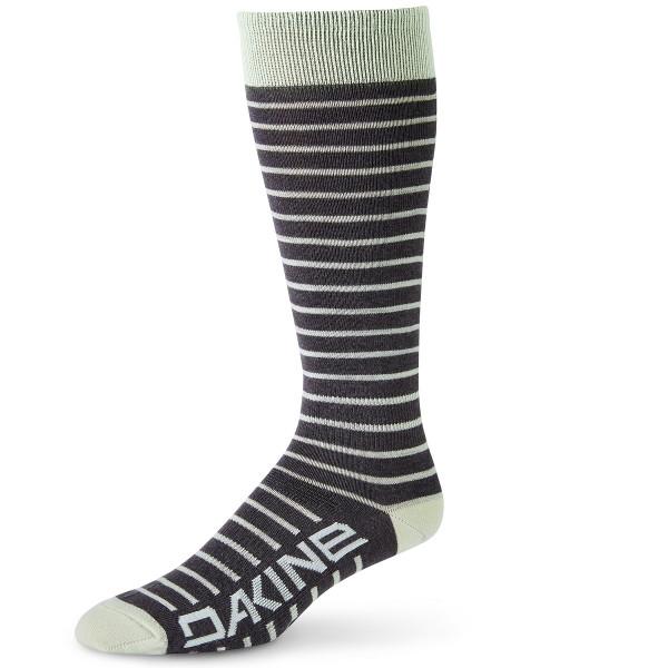 Dakine Womens Thinline Sock Damen Ski- / Snowboard Socken Green Lily / Charcoal