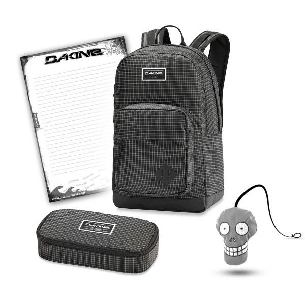 Dakine 365 Pack DLX 27L + School Case XL + Harry Block Schulset Rincon