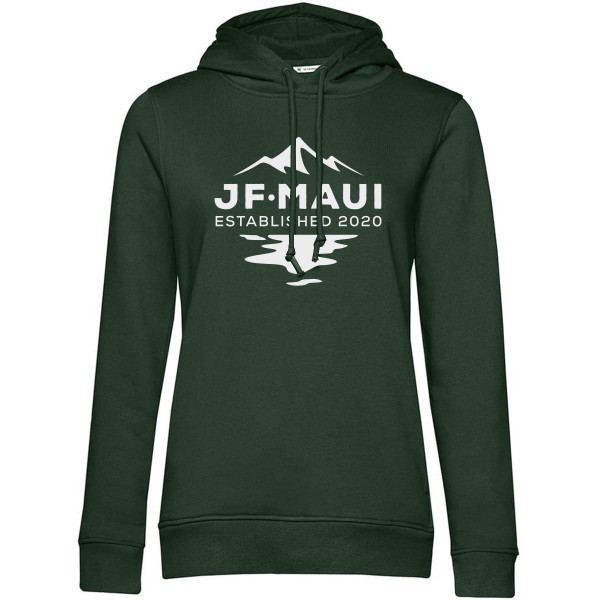 JF Maui Organic Hoodie Kapuzen Pullover Unisex Forest Green