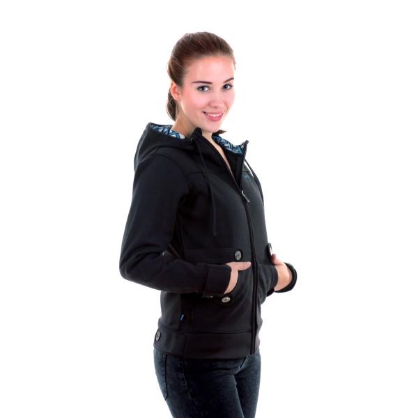 Dakine Womens Prism Hoodie Sweatshirt / Pullover Black