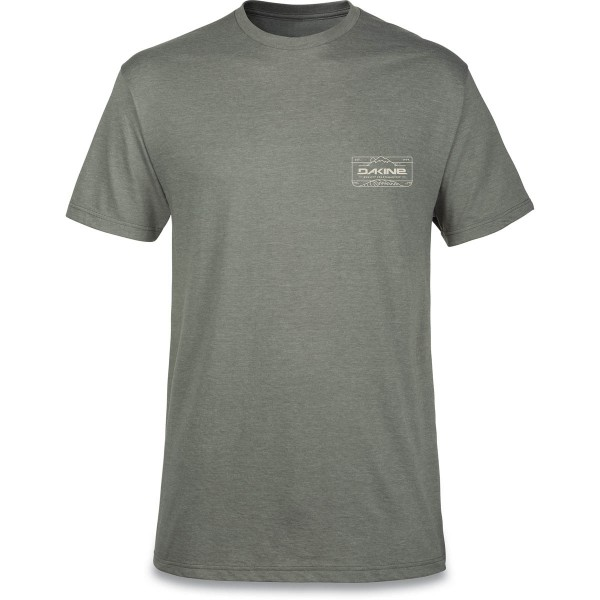 Dakine Peak To Peak T-Shirt Herren T-Shirt Platinum Heather
