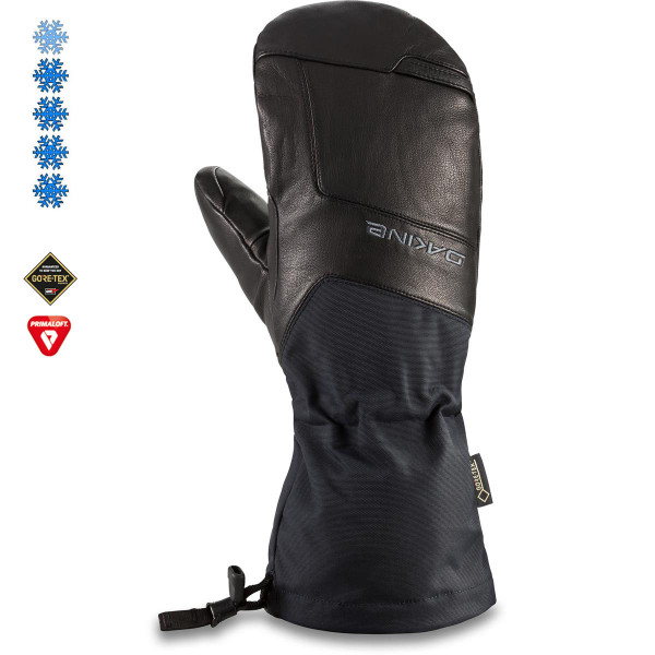 Dakine Continental Gore-Tex Mitt Herren Ski- / Snowboard Handschuhe Black