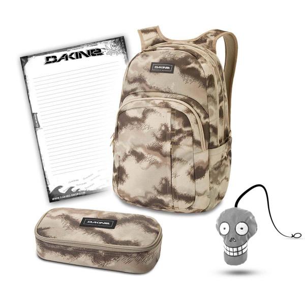 Dakine Campus Premium 28L + School Case XL + Harry + Block Schulset Ashcroft Cam