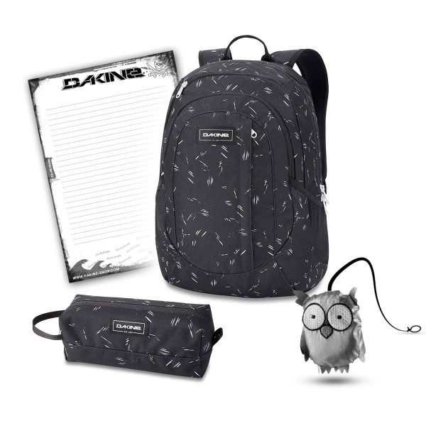 Dakine Garden 20L + Accessory Case + Emma + Block Schulset Slash Dot