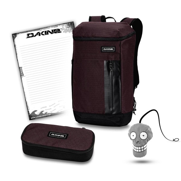 Dakine Concourse 25L + School Case XL + Harry + Block Schulset Taapuna