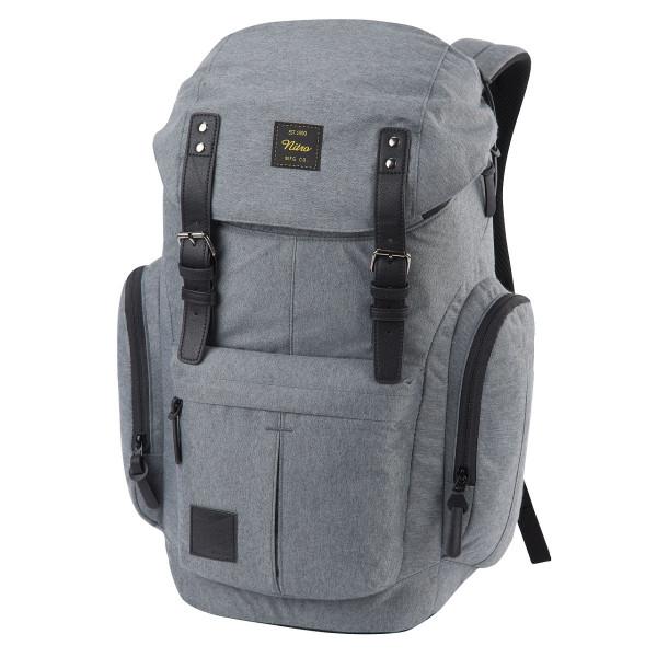 Nitro Daypacker 32L Rucksack mit Laptopfach Black Noise