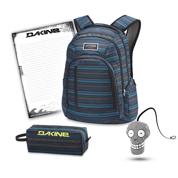 Dakine 101 29L + Accessory Case + Harry + Block Schulset Ventana