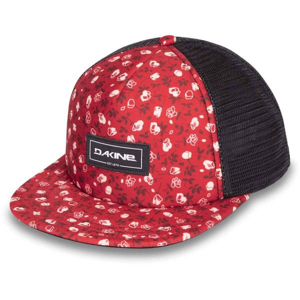Dakine Hula Trucker Cap Crimson Rose