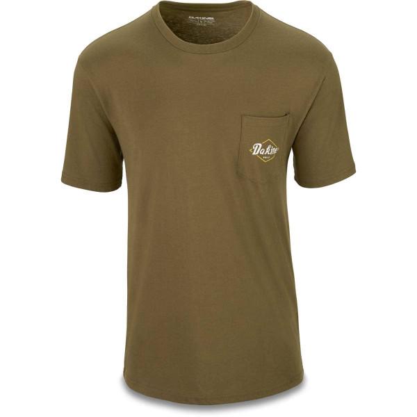 Dakine Built Pocket Herren T-Shirt Dark Olive