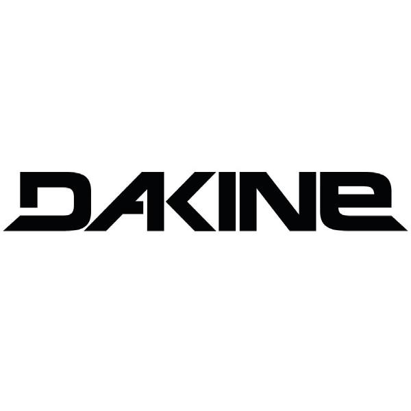 Dakine Rail Logo 24'' Sticker Aufkleber Black (60 x 6 cm)