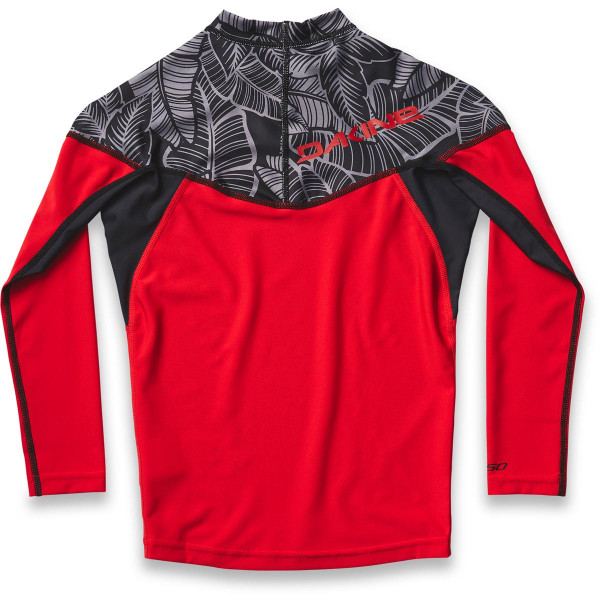 Dakine Boys Heavy Duty Snug Fit L/S Kinder Lycra Stencil Palm