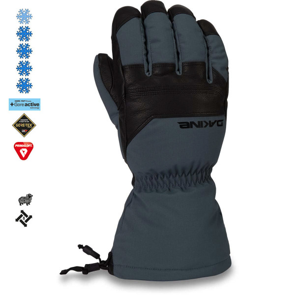 Dakine Excursion Gore-Tex Glove Herren Ski- / Snowboard Handschuhe Black / Dark Slate