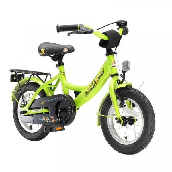 BIKESTAR Kinder Fahrrad Classic Grün ab 3 Jahre - 12 Zoll