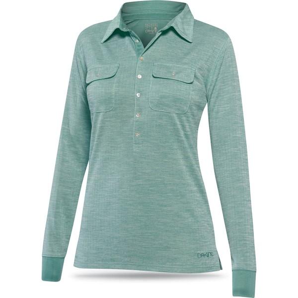Dakine Eva Button Up Funktionsshirt Mineral Blue