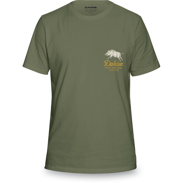 Dakine Full Boar Herren T-Shirt Army