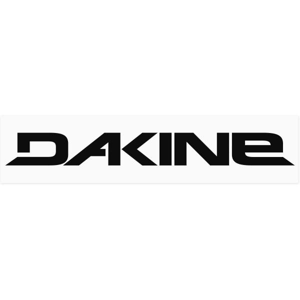 Dakine Outdoor Aufkleber Schwarz auf weißer Folie (42 x 10 cm)
