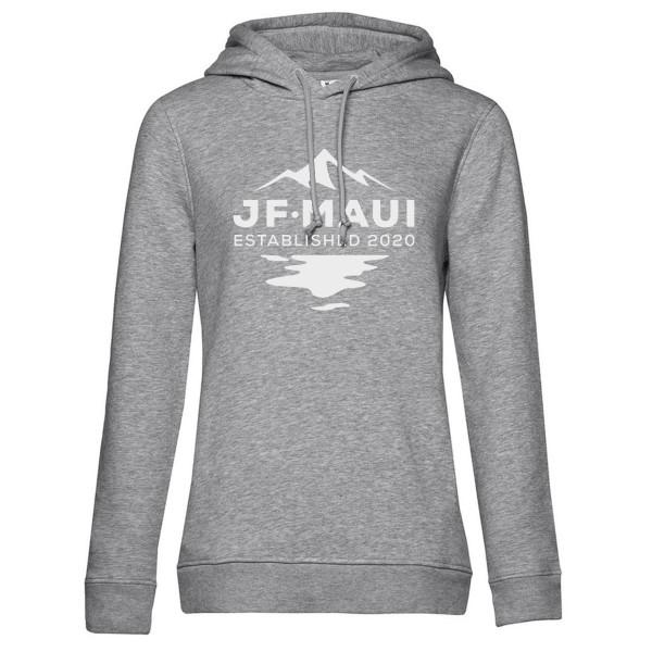 JF Maui Organic Hoodie Kapuzen Pullover Unisex Heather Grey