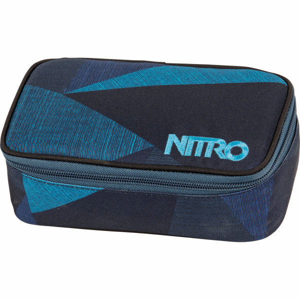 Nitro Pencil Case XL Federmäppchen Fragments Blue