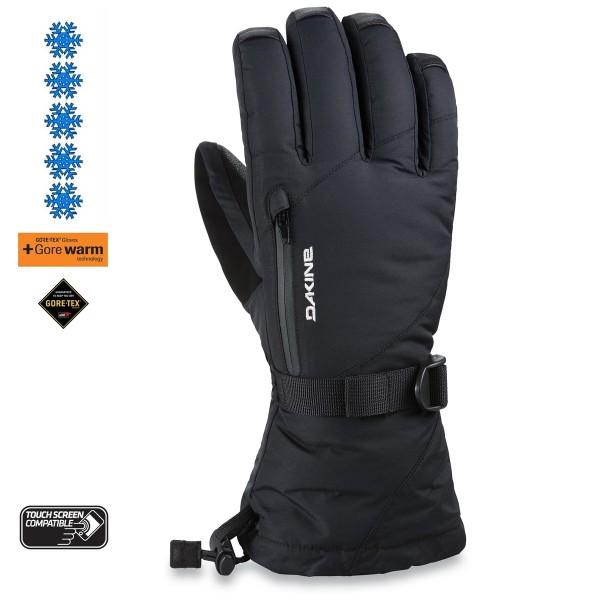 Dakine Leather Sequoia Gore-Tex Glove Damen Ski- / Snowboard Handschuhe mit Innenhandschuh Black