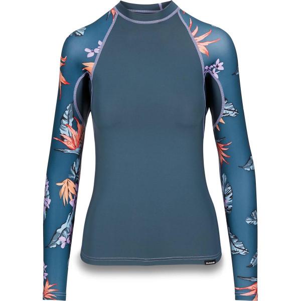 Dakine Womens Flow Print Snug Fit L/S Damen Lycra Waimea