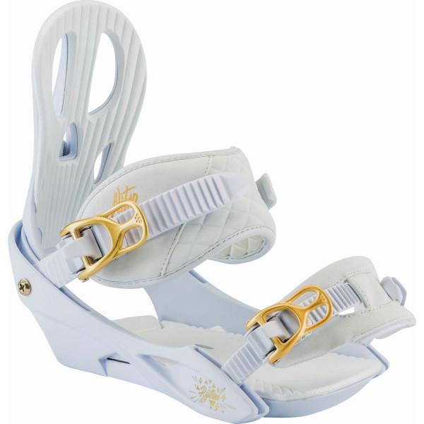 Nitro Rythm Bdg. 18 Snowboard Bindungen White Gold