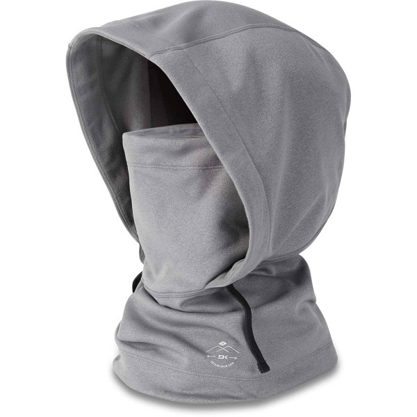 Dakine Ironside Hooded Clava Sturmhaube / Gesichtsmaske Heather Grey