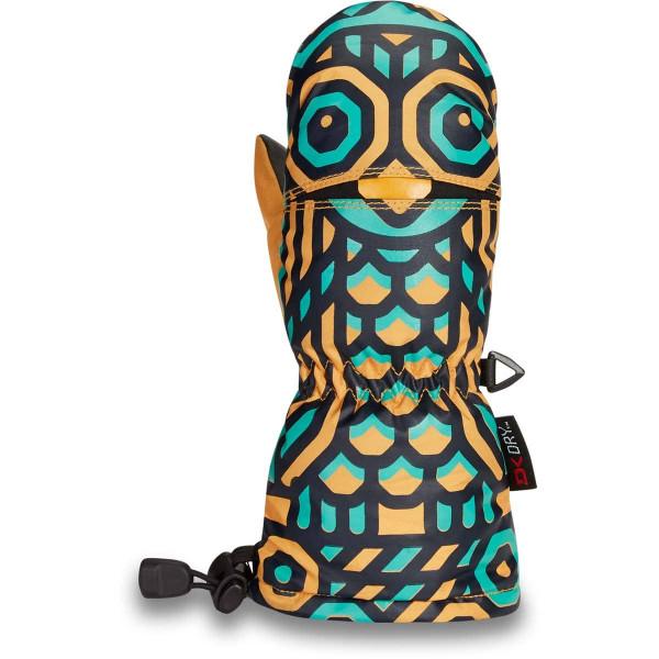 Dakine Scrambler Mitt Toddler Kleinkinder Ski- / Snowboard Handschuhe Golden Owl