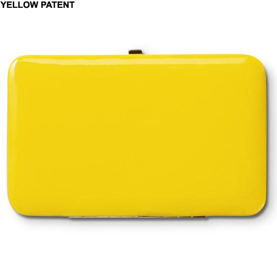 Dakine Kelly Geldbeutel Yellow Patent