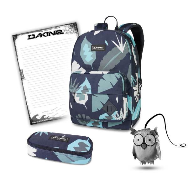 Dakine 365 Pack 30L + School Case + Emma + Block Schulset Abstract Palm