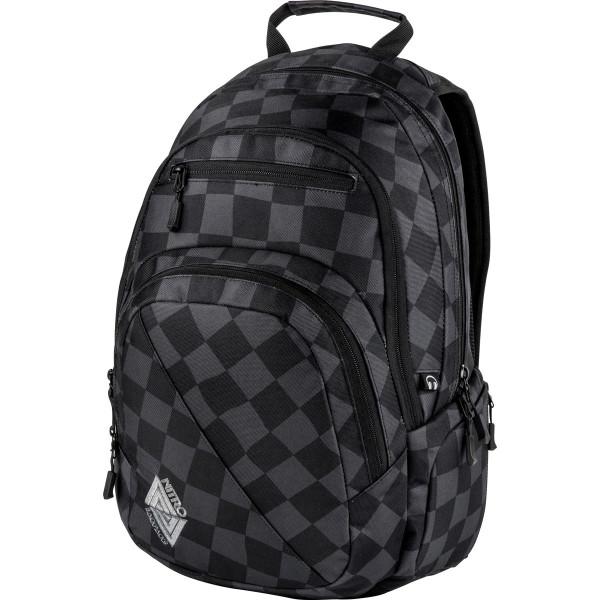 Nitro Stash 29L Rucksack mit Laptopfach Black Checker